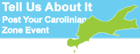 Tell Us About It: Post Your Carolinian Zone Event