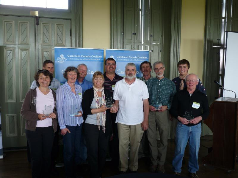 Carolinian Conservation Award 2014 Recipients.  Read about them below