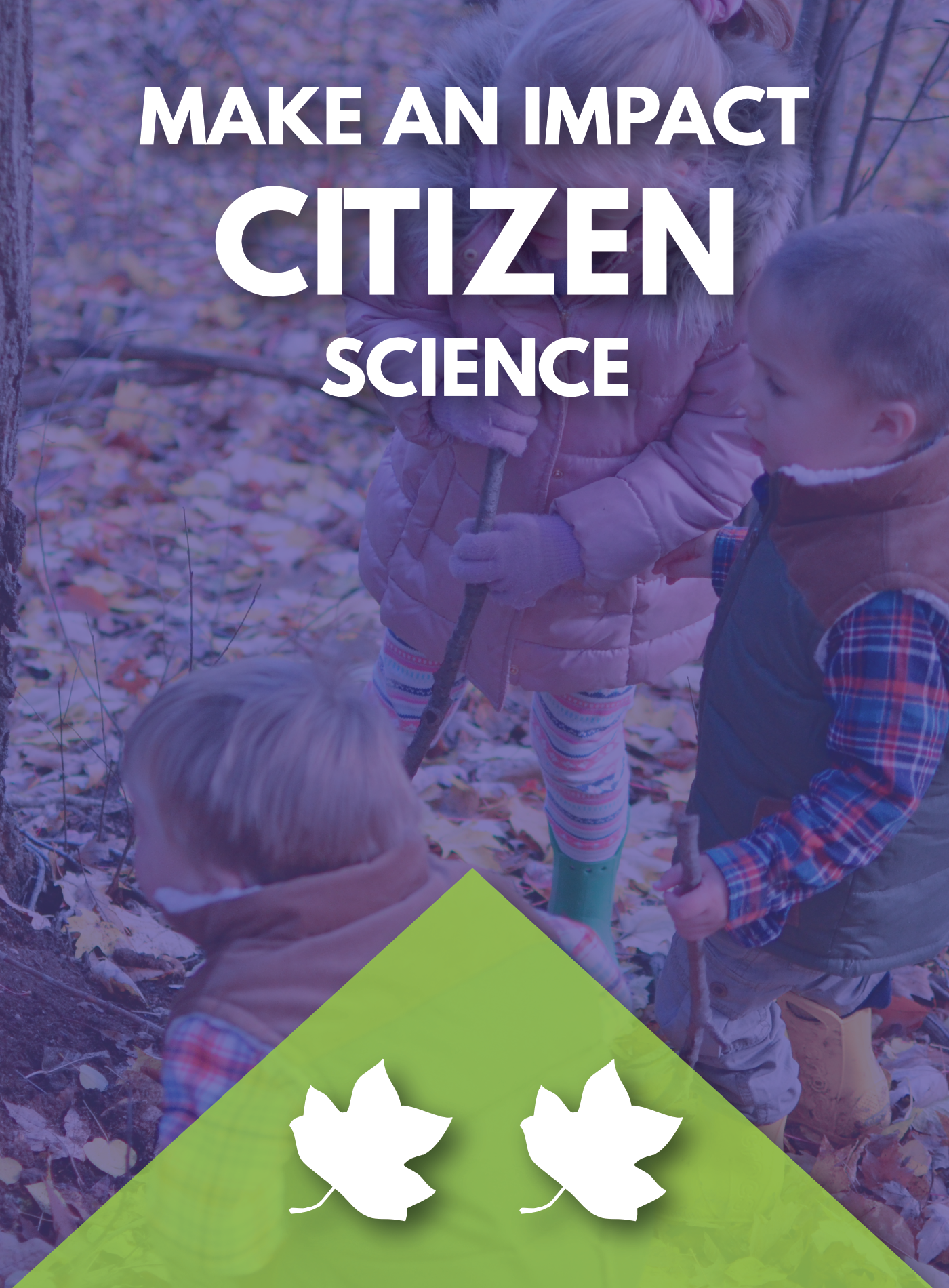 Make an impact with citizen science